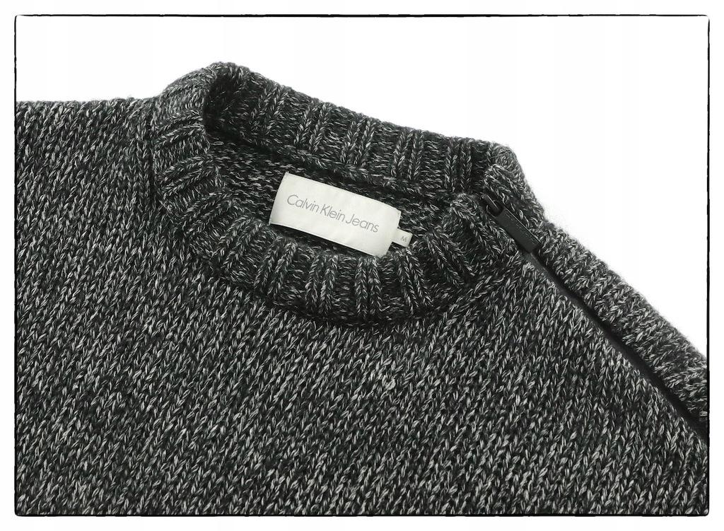 CALVIN KLEIN sweter__JEDWAB_________rozm:.L