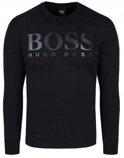 HUGO BOSS klasyczna bluza sportowa czarna r.S