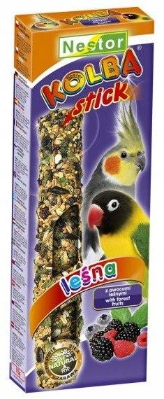 Nestor Kolba Papuga średnia owoce leśne 2szt
