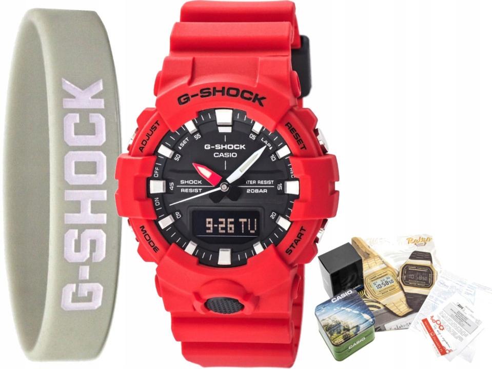 Zegarek CASIO G-SHOCK dla chłopca SPORTOWY GW 3+3L