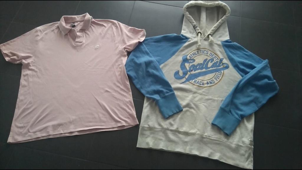 Zestaw ubran męskich R.L/XL, gratis koszulaCalvin.