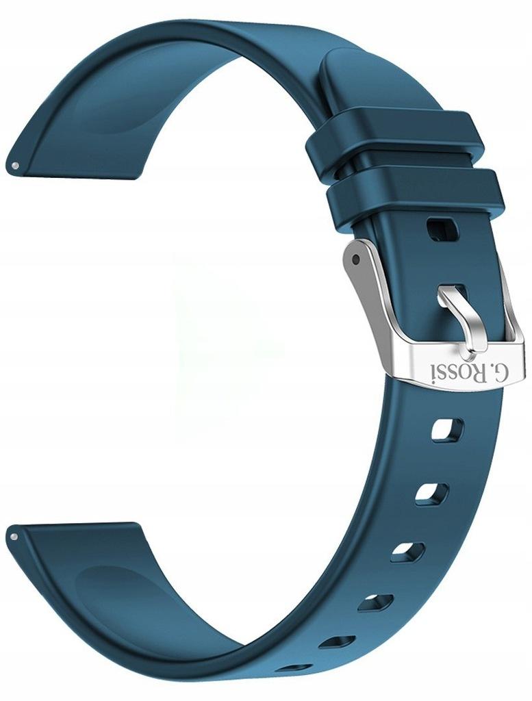 Pasek silikonowy do Smartwatch Gino Rossi SW09 GRA
