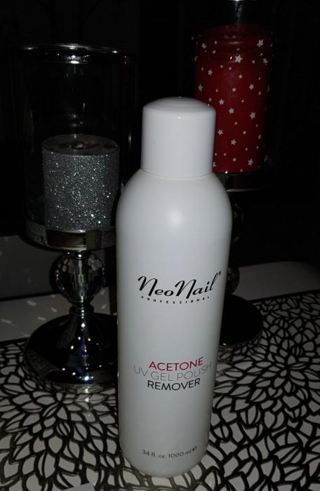 aceton NeoNail Remover butelka 1000 zawartość 870