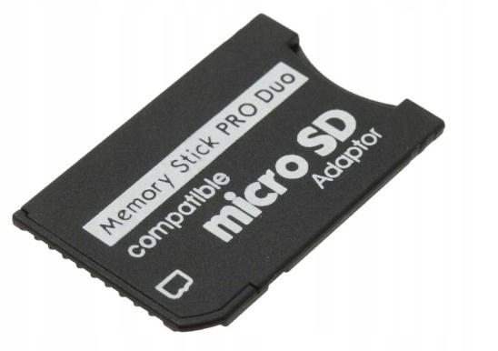 Adapter Memory Stick Pro Duo - microSD