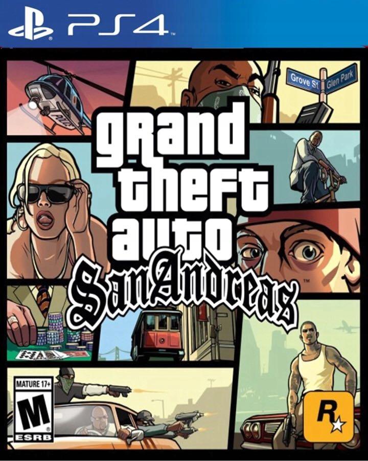 Grand Theft Auto San Andreas Gta Ps4 Pl 7918443528 Oficjalne Archiwum Allegro