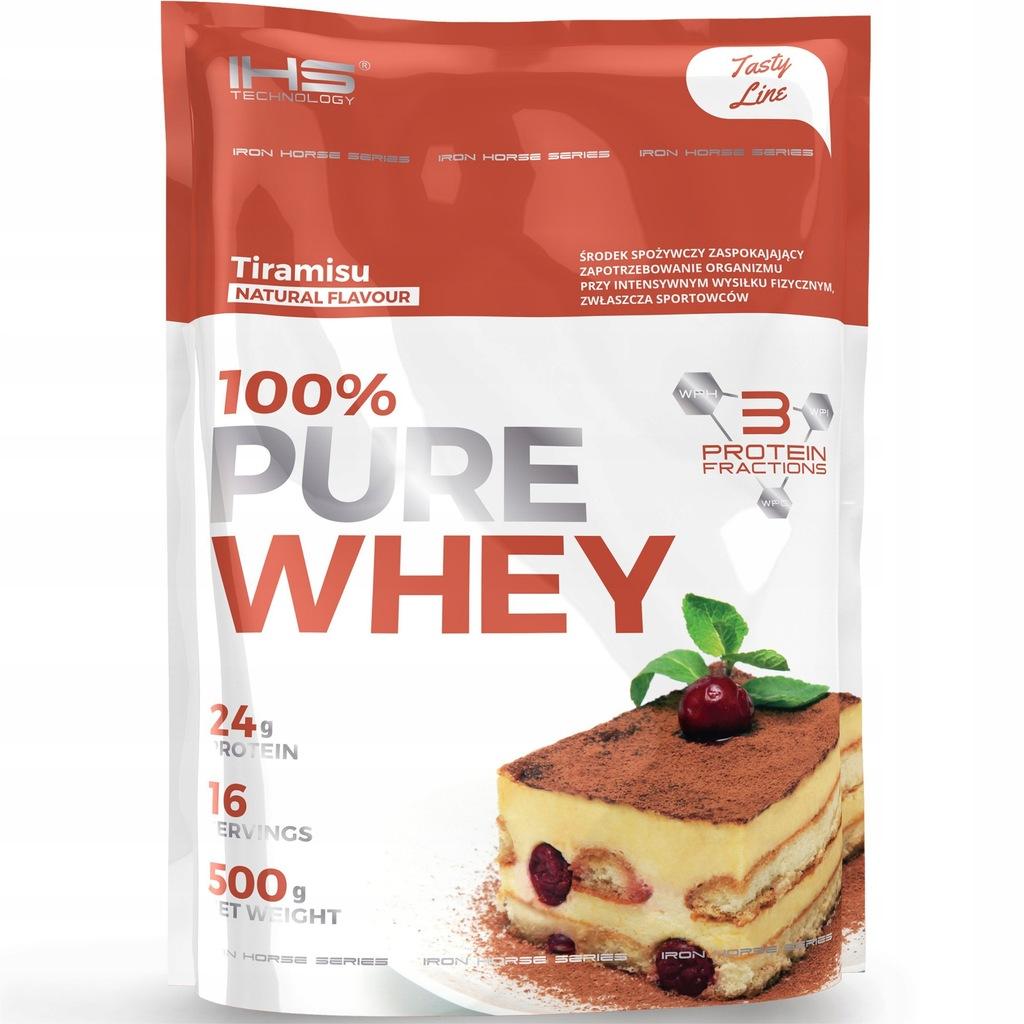 IHS Białko Whey Pure 100% TIRAMISU 500g Proteiny