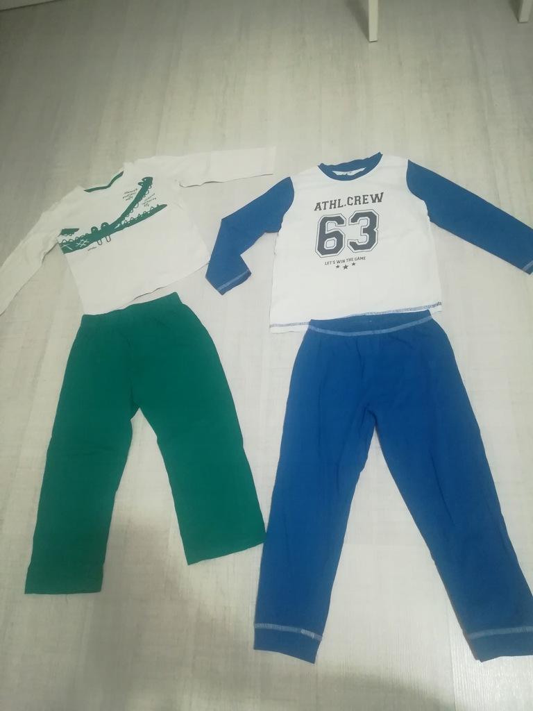 Piżamki chłopiec dwupak 98/104 endo 2-4 lata