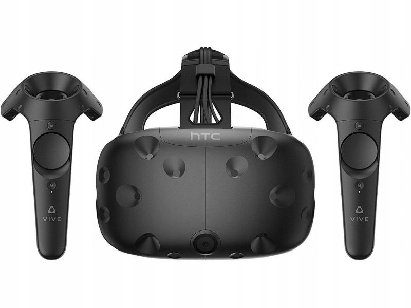 Gogle Okulary 3D VR HTC Vive 2 kontrolery