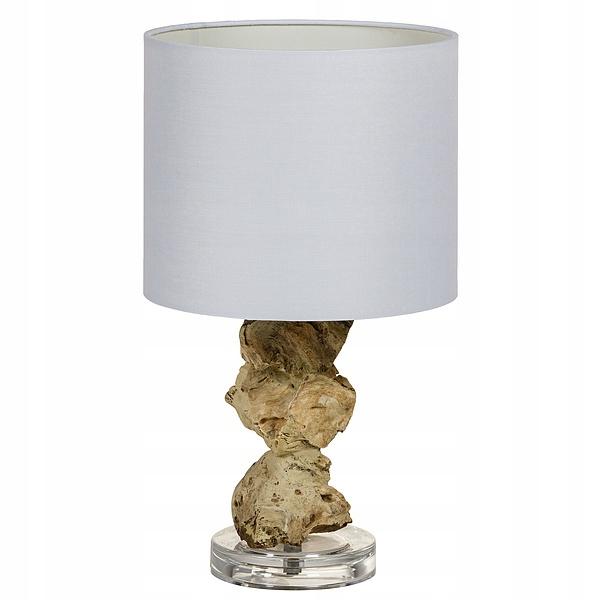 Lampa stołowa Drewno akacjowe (24 X 24 x 47 cm)
