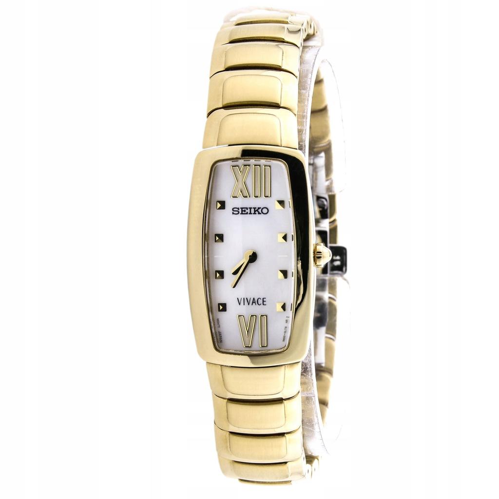 Zegarek SEIKO SUJ784P1 złoty