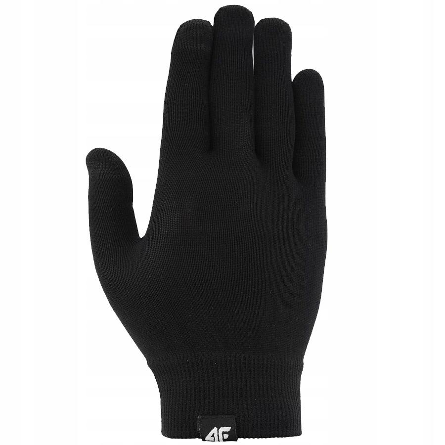 Rękawice zimowe 4F H4Z20-REU071 20S czarny S/M