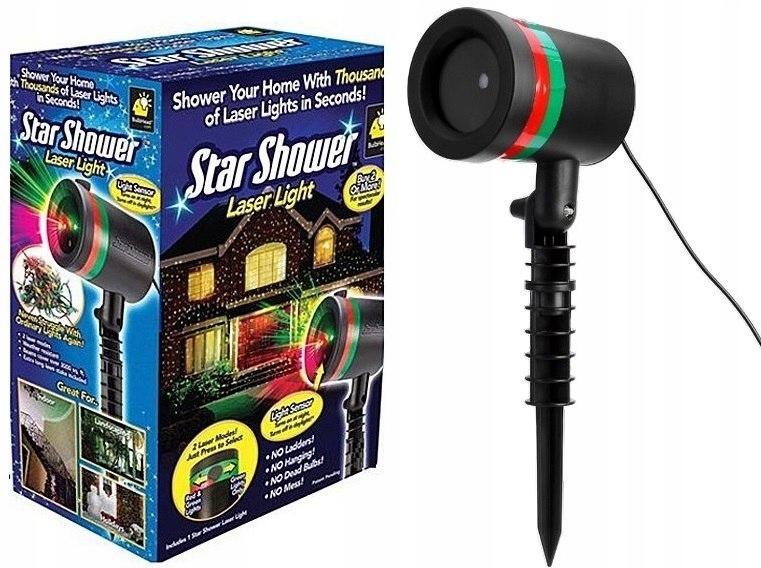 Projektor Laserowy Star Shower Laser Swiateczny 7645989013 Oficjalne Archiwum Allegro