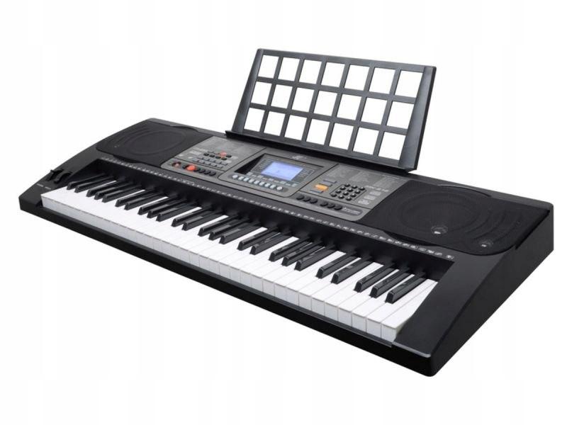 Keyboard Organy 61 Klawiszy Zasilacz MK-816 z funk