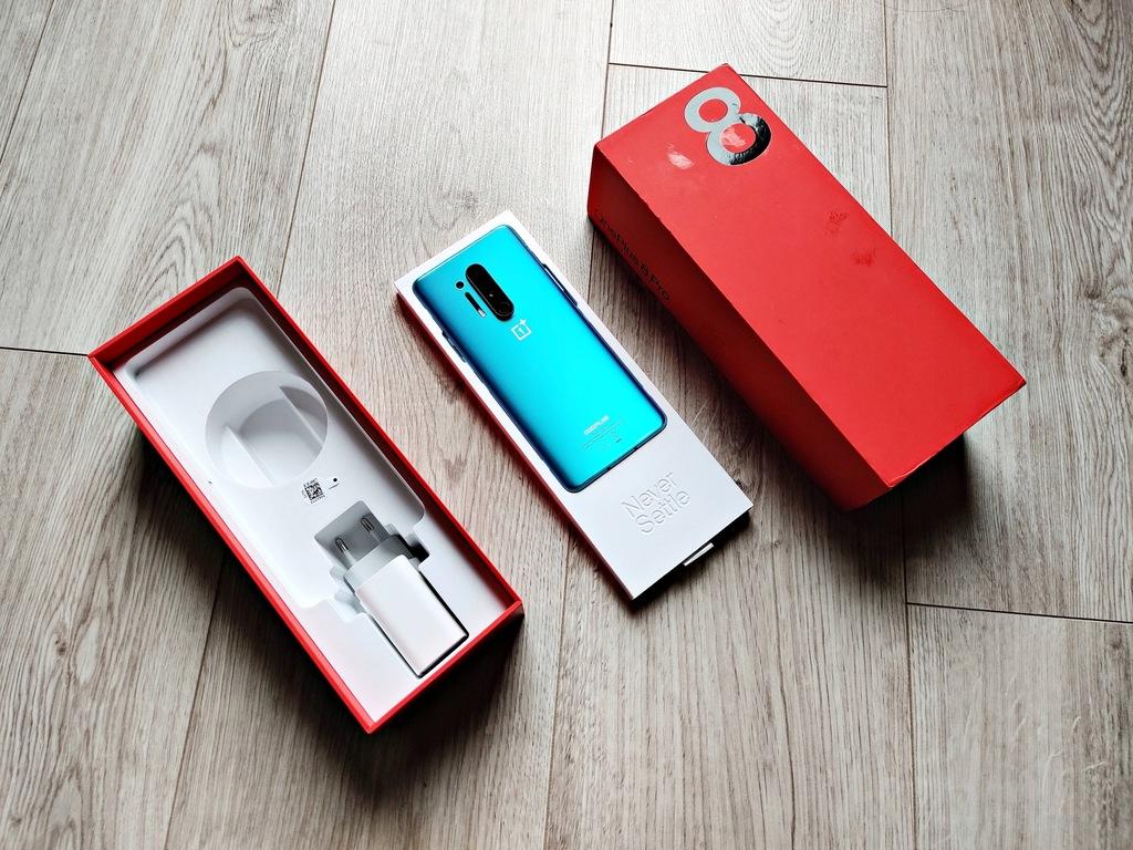 OnePlus 8 Pro 5G 12/256GB zielony, GW 2022, tanio!