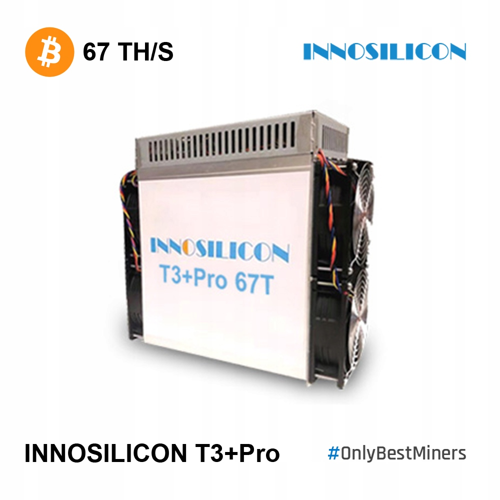 Magazyn! Antminer Innosilicon T3+Pro 67TH S17