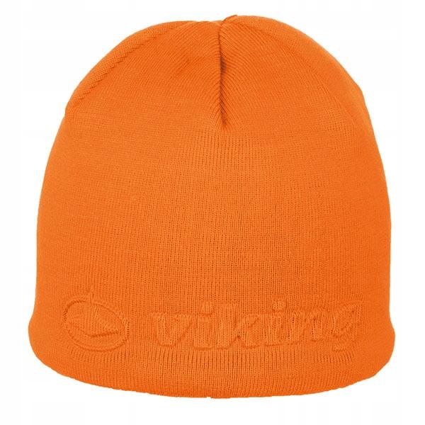 Gładka czapka z tłoczonym logo Viking Salter