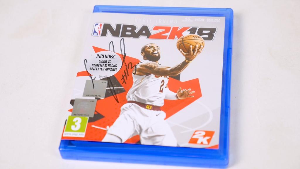Gra NBA 2K18 na PS4 z autografem Marcina Gortata