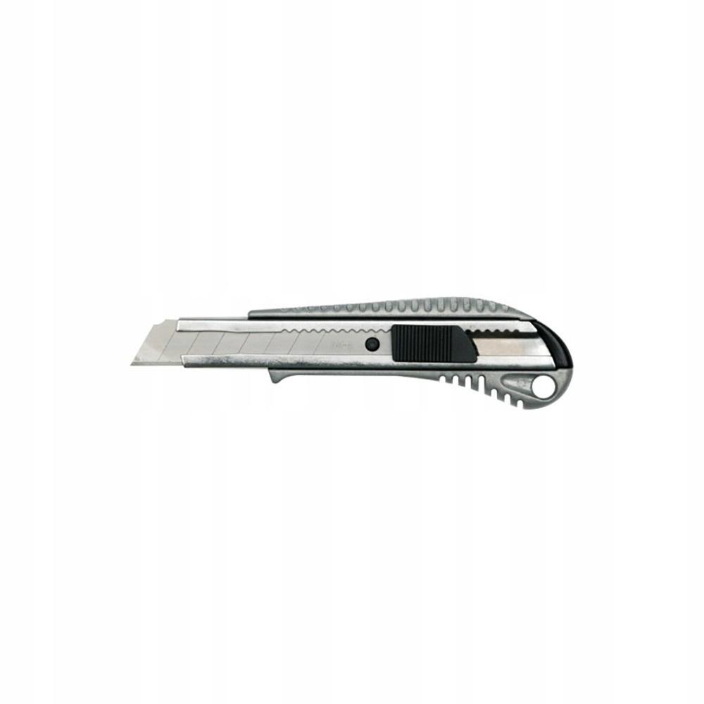 Nóż z metalową prowadnicą 18mm 76184