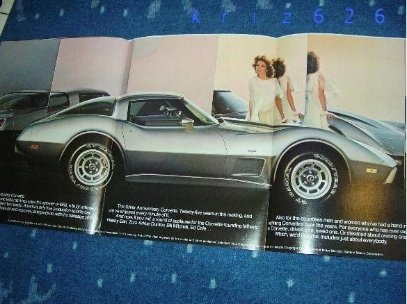Chevrolet Corvette Silver 25th Anniversary - 1978
