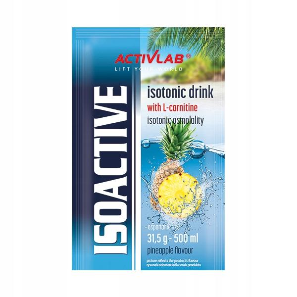 ACTIVLAB Isoactiv 31.5g (1sasz) Izotonik ANANAS