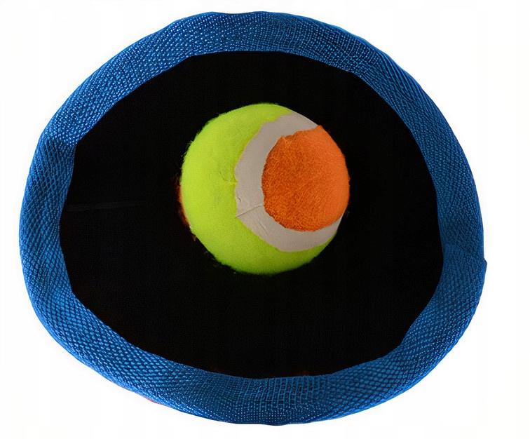 Outdoor Fun catch game Soft velcro 18 cm niebieski