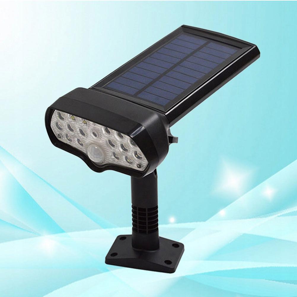 2pcs Solar Powered Motion Sensor Lights Lamp Home