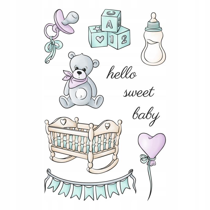 Happy scrap -stemple- SWEET BABY - ARRIVAL