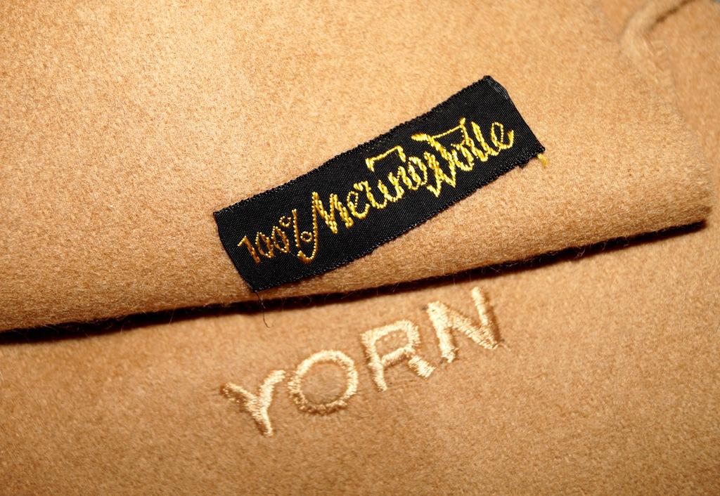 YORN 100% wełna merino duży luksusowy szal