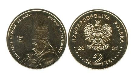 2 ZŁ 100-LECIE STEFANA WYSZYŃSKIEGO 2001 r.