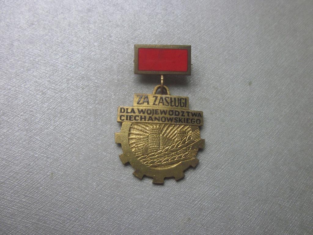 Odznaka Za Zasługi Dla Woj. Ciechanowskiego 1