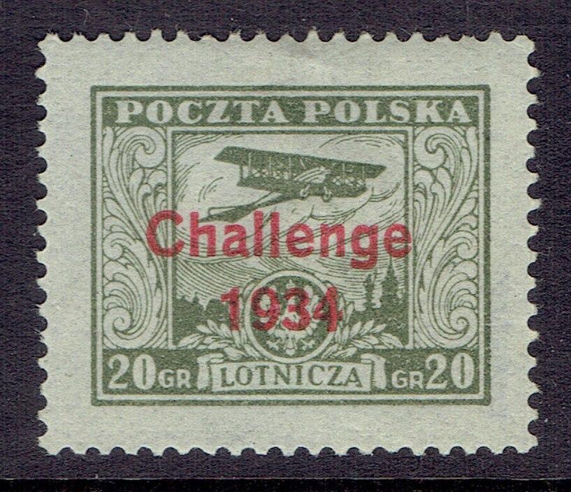 1934r. Fi. 268 ** Challenge- gwarancja