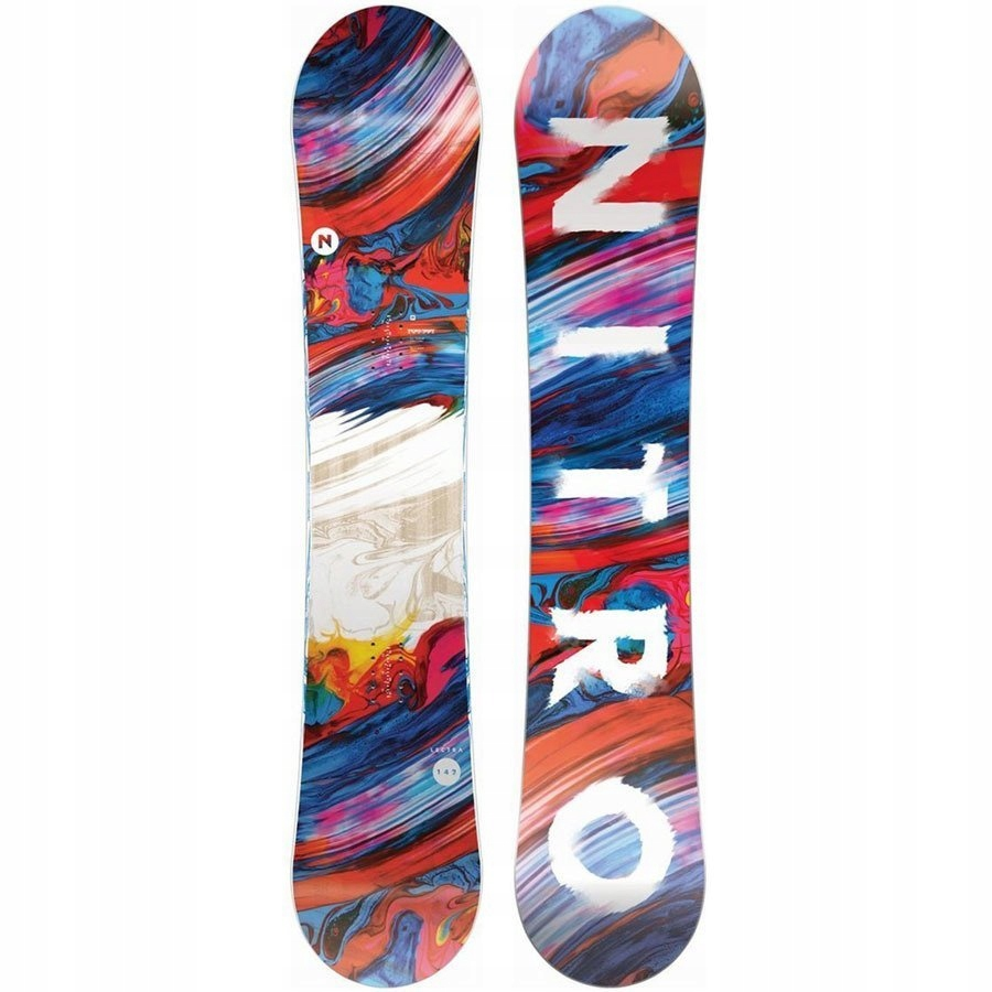 Deska snowboard NITRO Lectra 2020 z 1480PLN 142