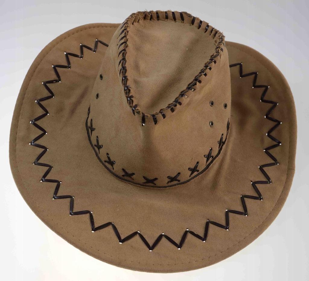 kapelusz ze skóry ekologicznej na najlepszy upały