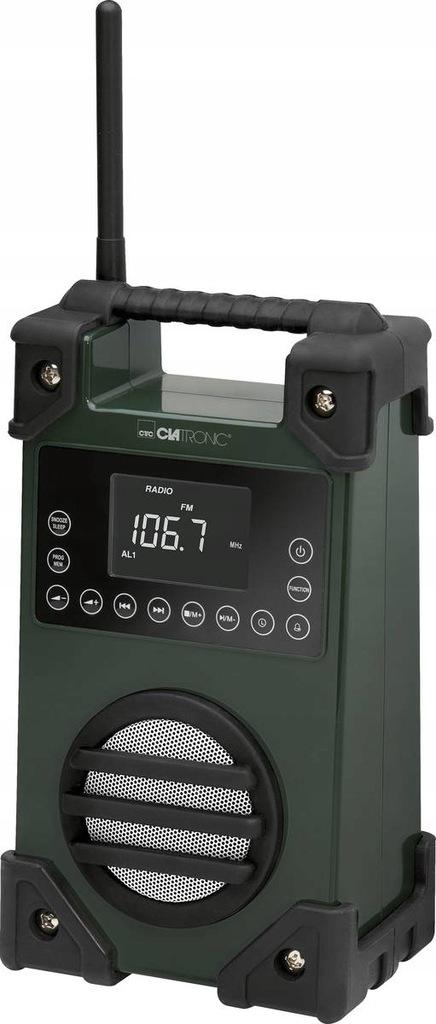 Radio budowlane Catronic USB AUX LCD IPX4 FM