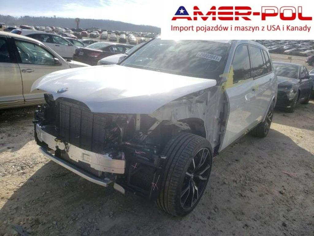 BMW X7, XDRIVE50I, uszkodzony przód