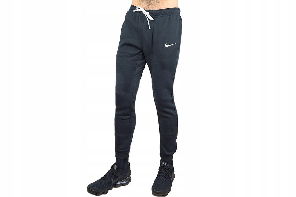 NIKE TEAM CLUB 19 FLEECE PANT (L) Męskie Spodnie