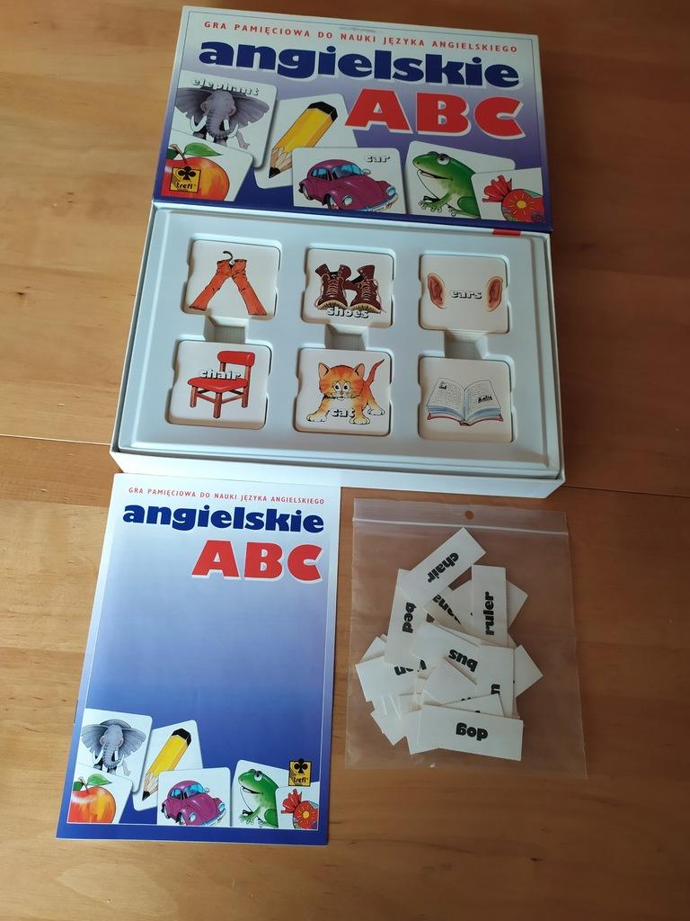Angielskie ABC gra edukacyjna