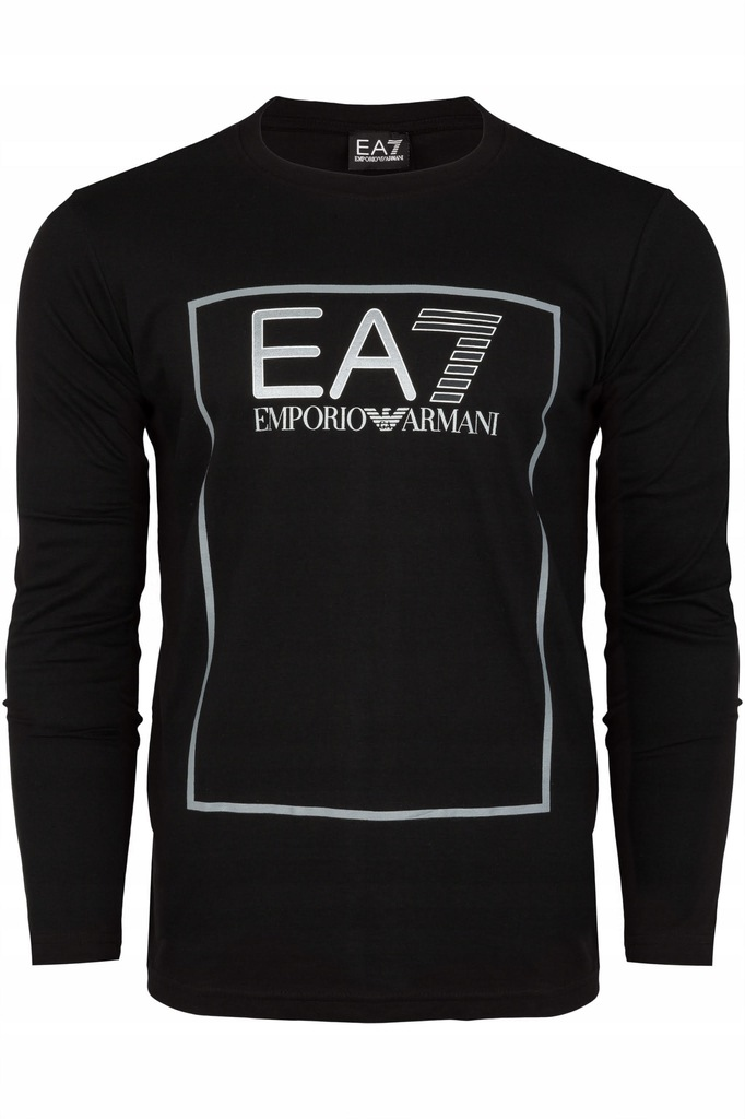 KOSZULKA LONGSLEEVE EMPORIO ARMANI EA7 CZARNA M