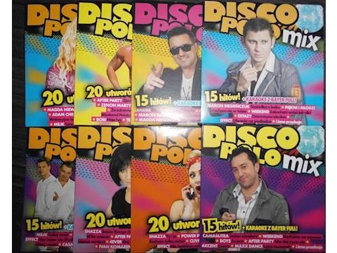 Disco Polo Mix 8 Plyt Cd Album 7417964593 Oficjalne Archiwum Allegro