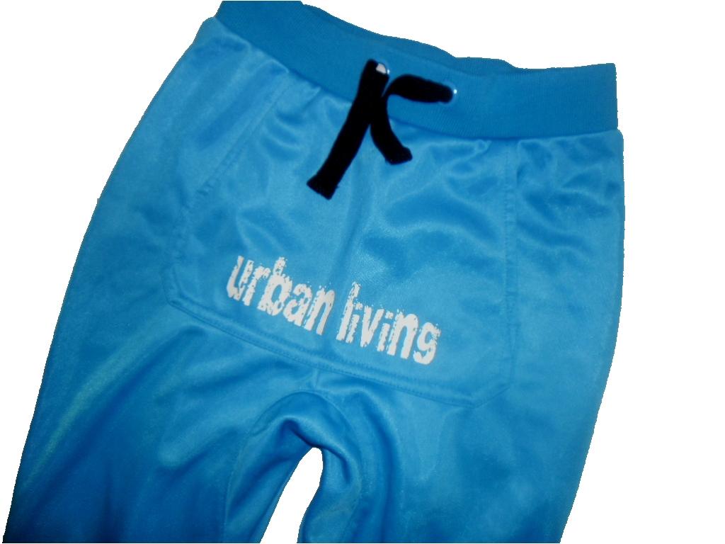 REBUS turkusowe spodnie dresy pumpy r 92 ok 2 lata