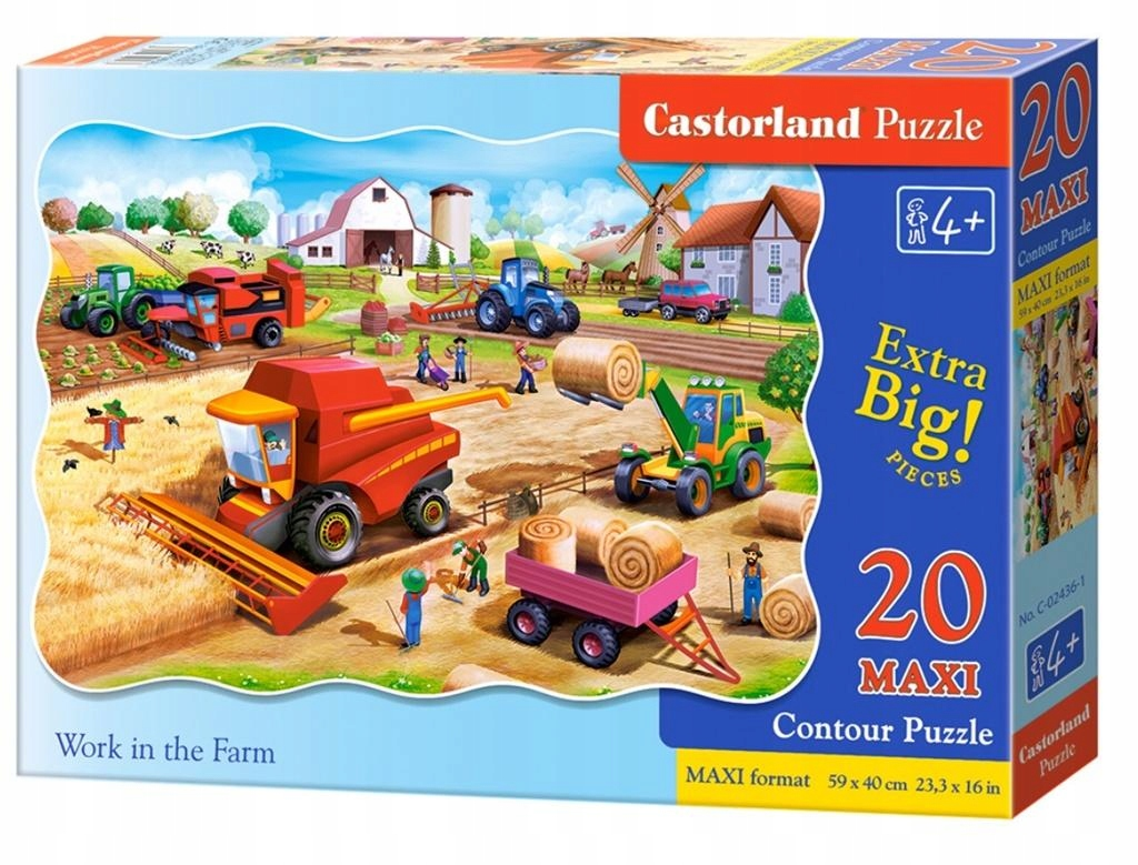 Puzzle 20 max - Work on the Farm CASTOR