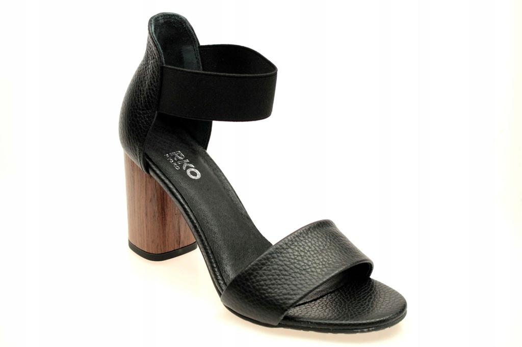 Sandały Ryłko 9HDA7 36 Czarne