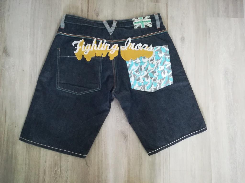 Spodenki jeansowe ARTFUL DODGER !!Pas-90 cm NEW!!!