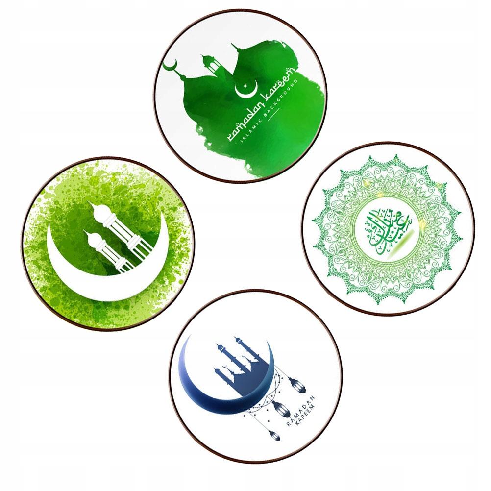 4 arkusze Ramadan Domowa naklejka ścienna w stylu
