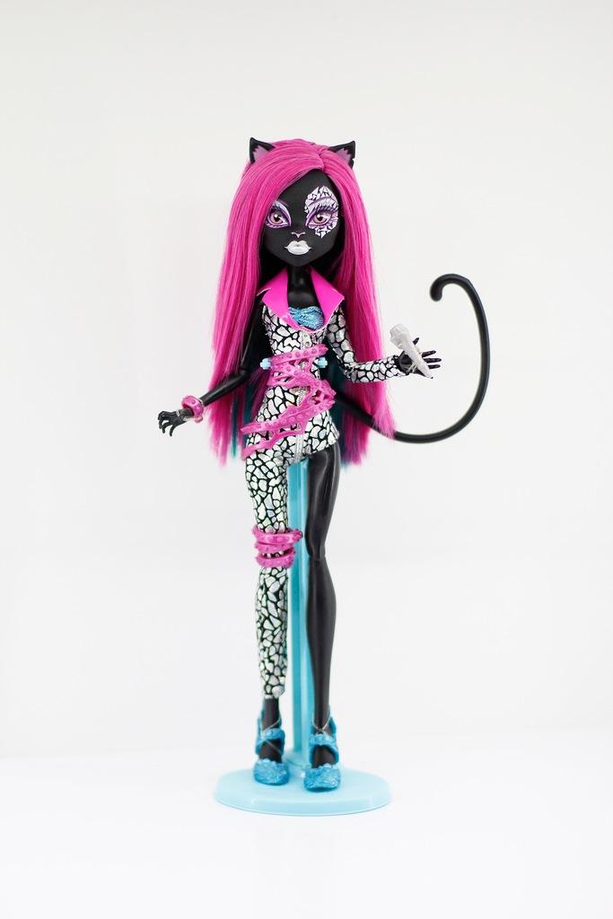 Monster High Catty Noir Fierce Rockers Unikat 8921247297 Oficjalne Archiwum Allegro