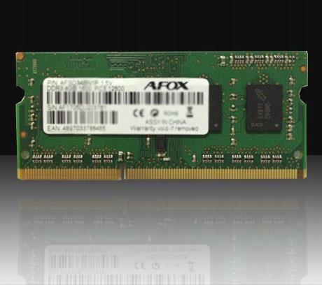 AFOX SO-DIMM DDR3 4GB 1600MHZ MICRON CHIP AFSD34BN