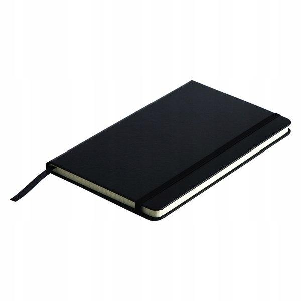 Notatnik 130x210/80k kratka Asturias, czarny - dru