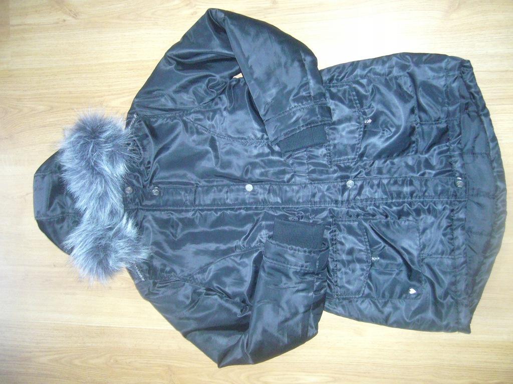 Kurtka Cool Club zima 158cm czarna