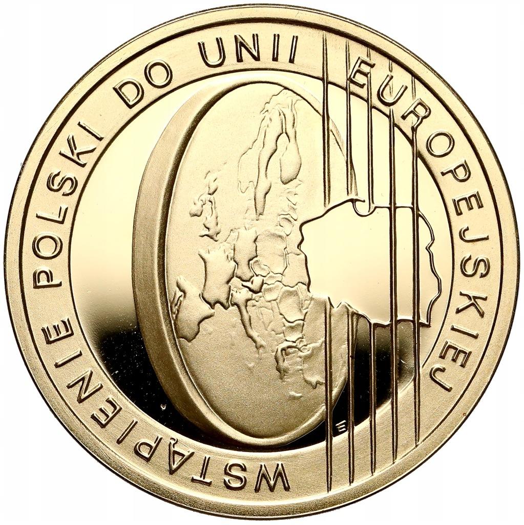 903. 200 zł 2004 Polska w UE - 15,5 g Au.900