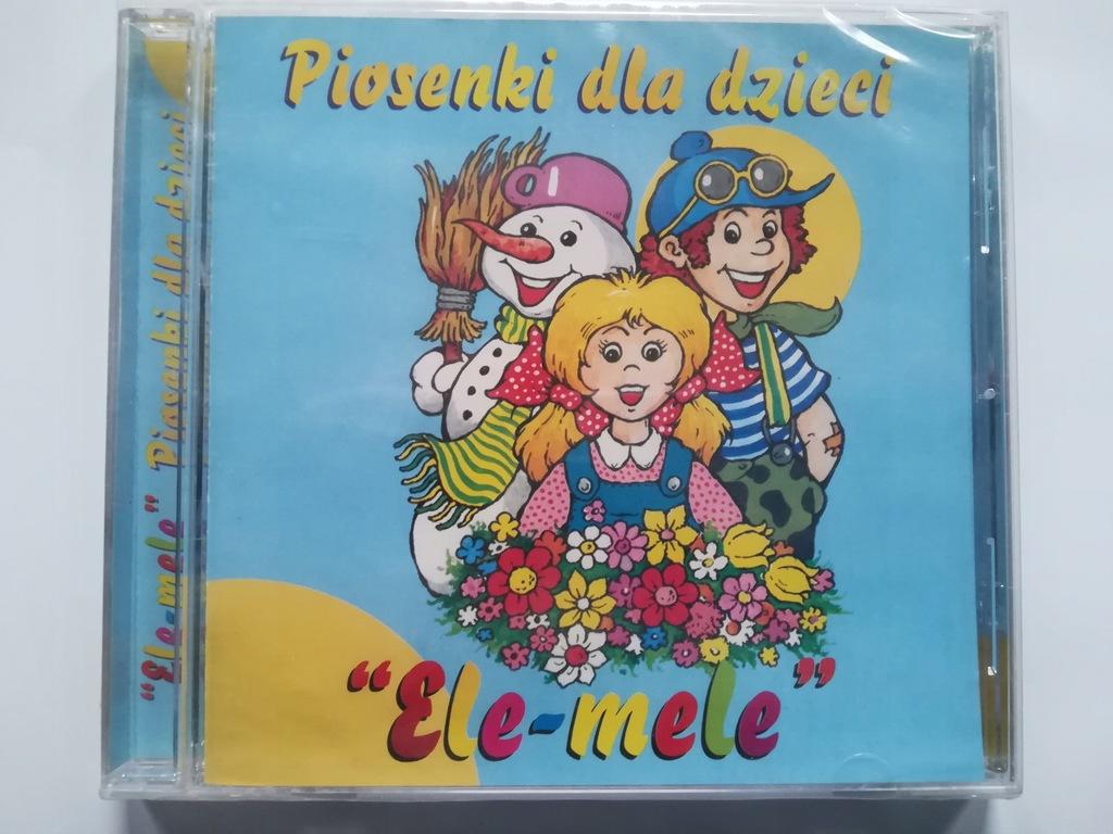 CD - ELE-MELE - PIOSENKI DLA DZIECI - FOLIA